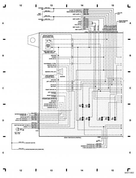 91 honda crx radio wiring diagram
