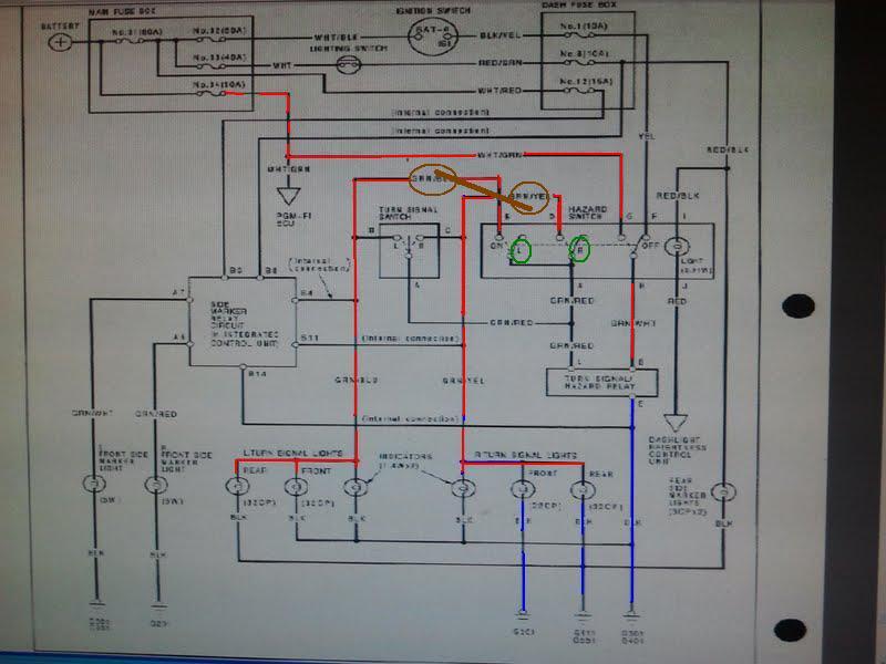 Großzügig 990 Schaltplan Honda Civic Ideen - Elektrische Schaltplan ...