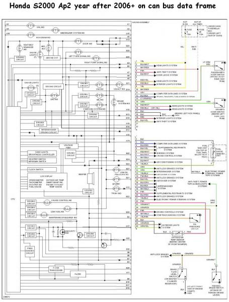 wiring harness 2002 honda s2000