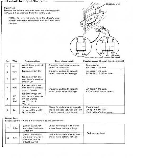 96 Honda Civic Lx Power Window Wiring Diagram Wiring Diagram Library