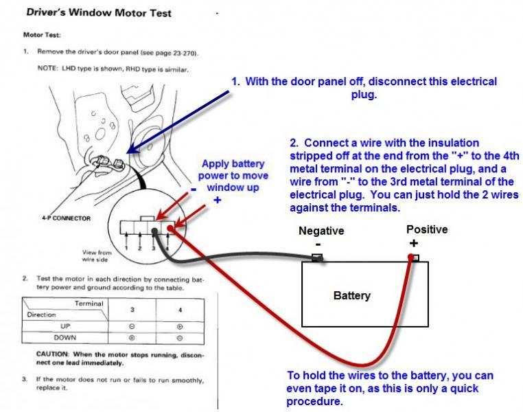 2004 Honda Accord Power Window Wiring Diagram Electrical Circuit