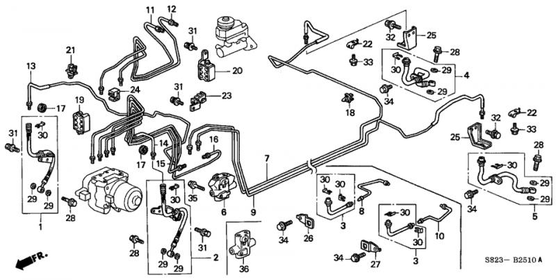 95 honda civic fuel line diagram