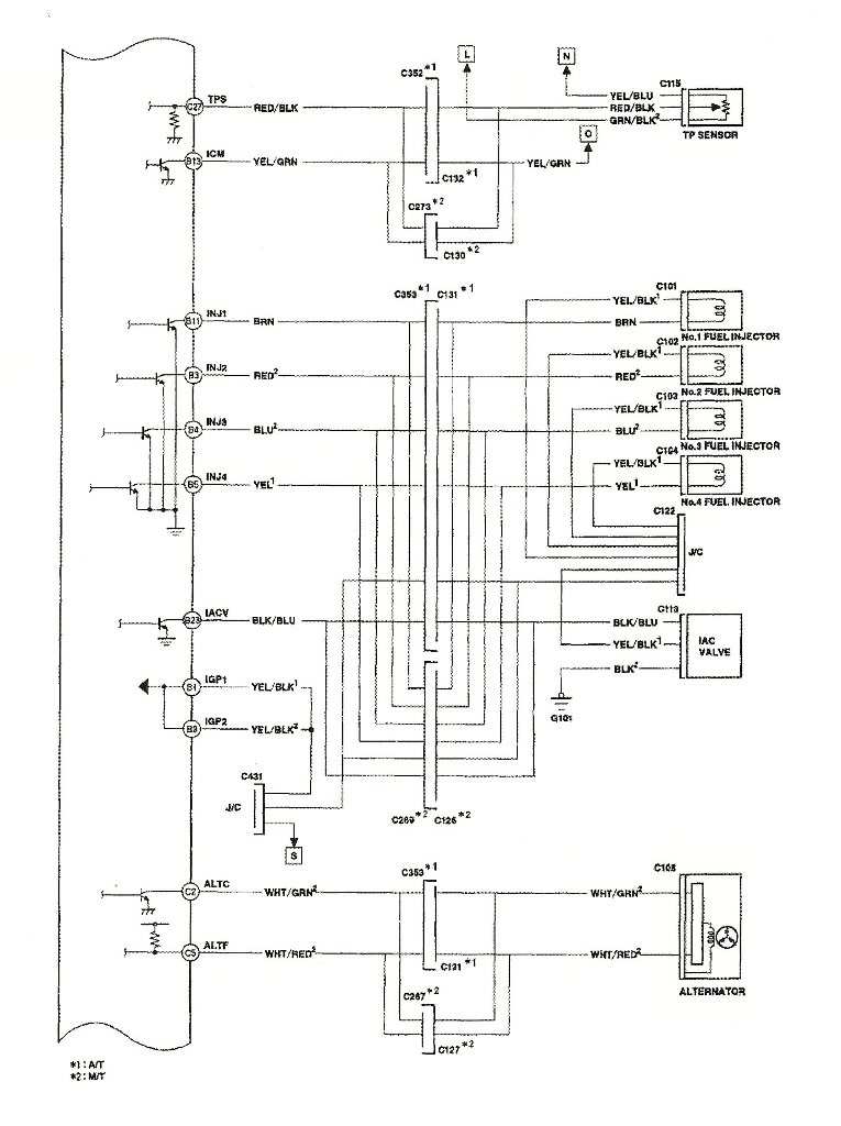 2001 honda accord ecu wiring diagram
