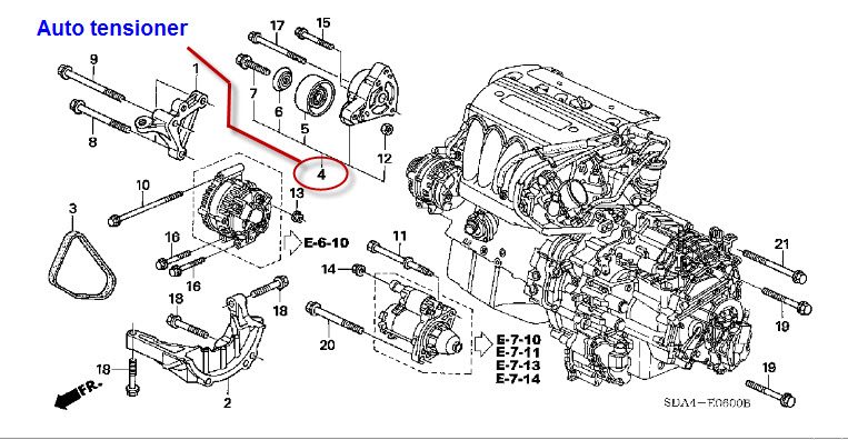 2006 honda ridgeline engine diagram