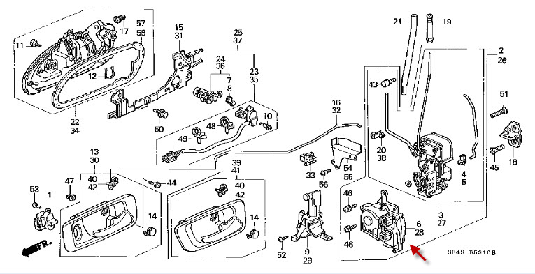 2006 honda odyssey power door wiring diagram