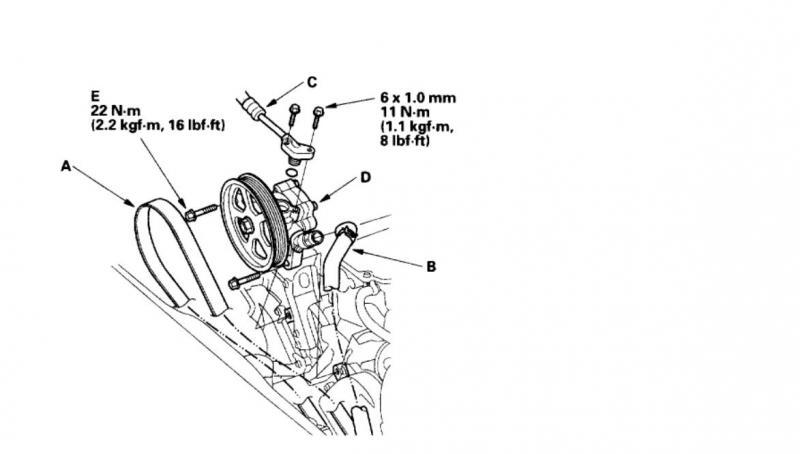 honda accord power steering leak
