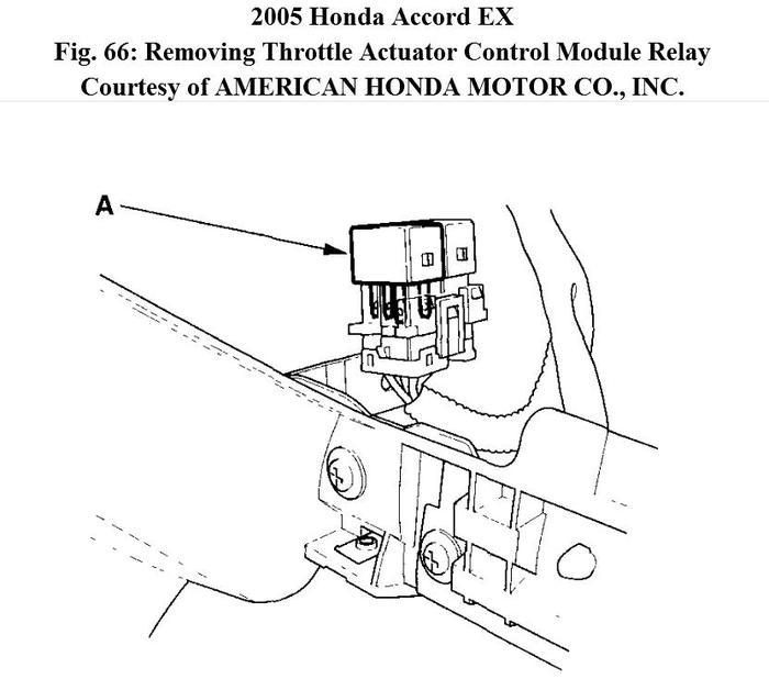 2003 honda accord wire harness