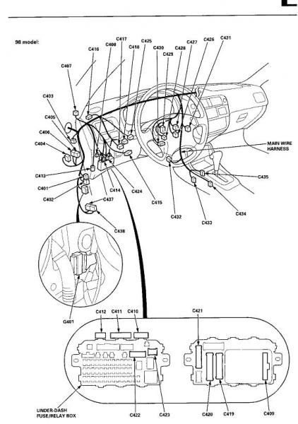 wiring diagram for a 1992 honda civic