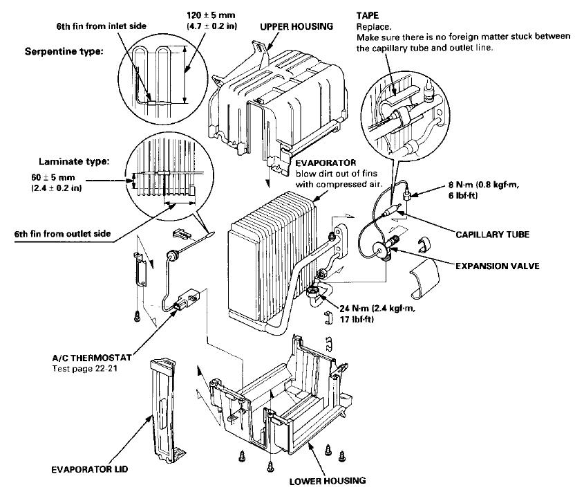 ac wiring diagram 1991 honda prelude