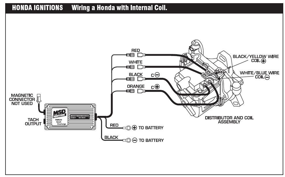 msd 6a wiring diagram hei distributor