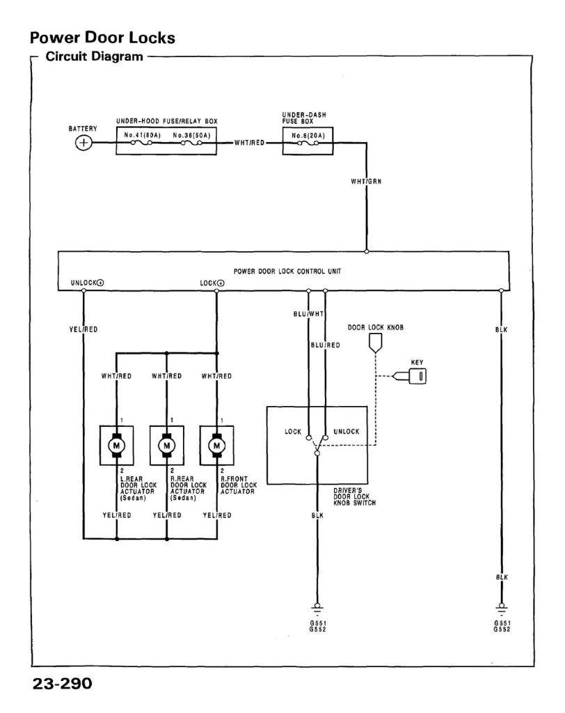 power door lock swap install stock oem parts