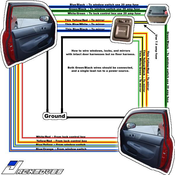 Power door lock swap (install) *stock* OEM parts - Honda-Tech