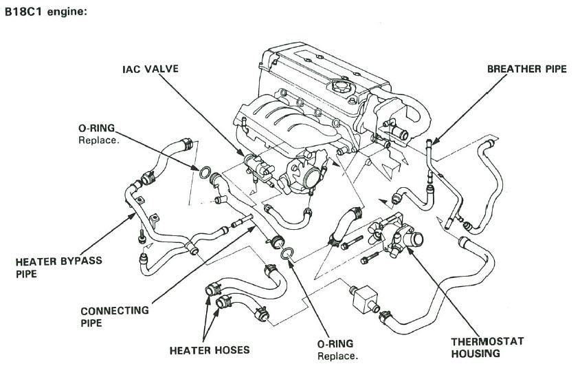 2000 honda civic ex engine diagram