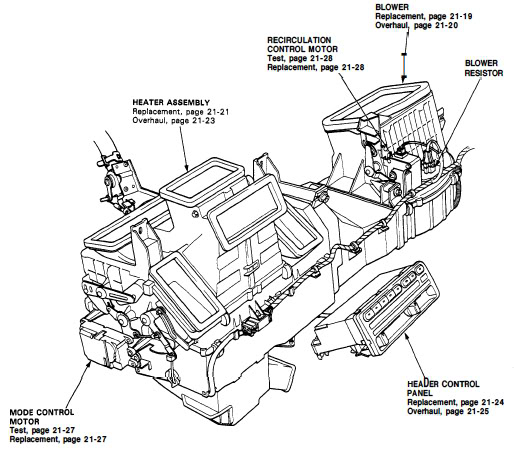 1996 isuzu Motor diagram