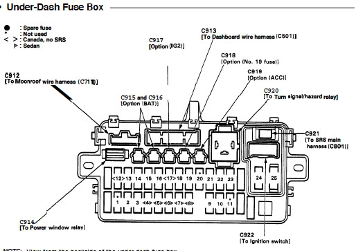 94 honda civic wiring diagram