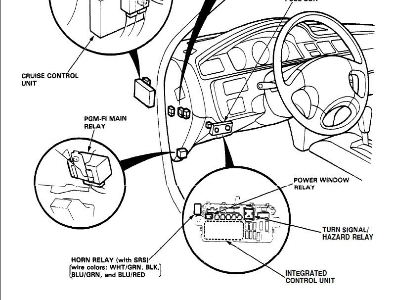 civic turn signals and hazards dont work - Honda-Tech - Honda Forum