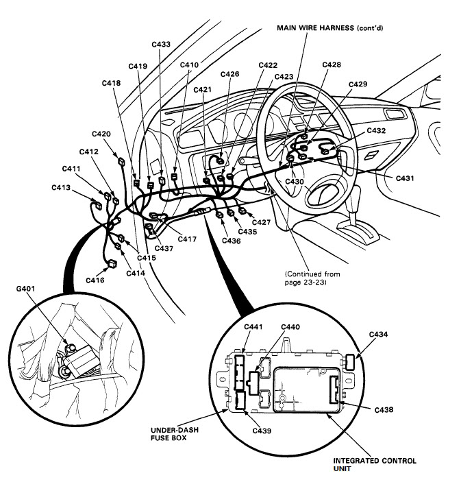 1998 honda civic turn signal wiring