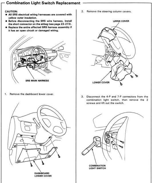 headlight switch manual
