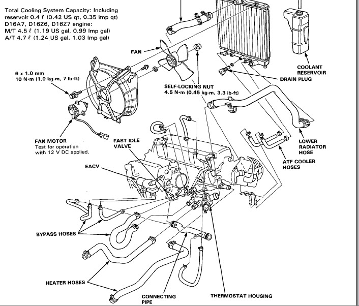 D15b7 Engine Diagram Wiring Schematic Diagram