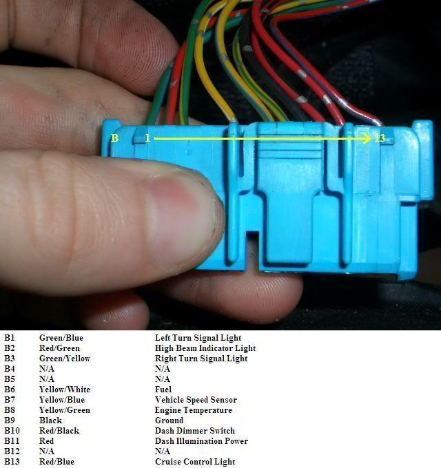 Honda Del Sol Gauge Cluster Wiring Diagram - Wiring Diagram Online