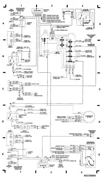 1991 Honda Wiring Diagram - Nudohugeslankaviktcenterinfo \u2022