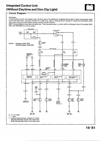 anyone got a dash wiring diagram? - Honda-Tech - Honda Forum Discussion