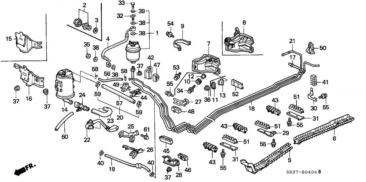 92 Honda Civic Fuel Filter Electrical Circuit Electrical Wiring