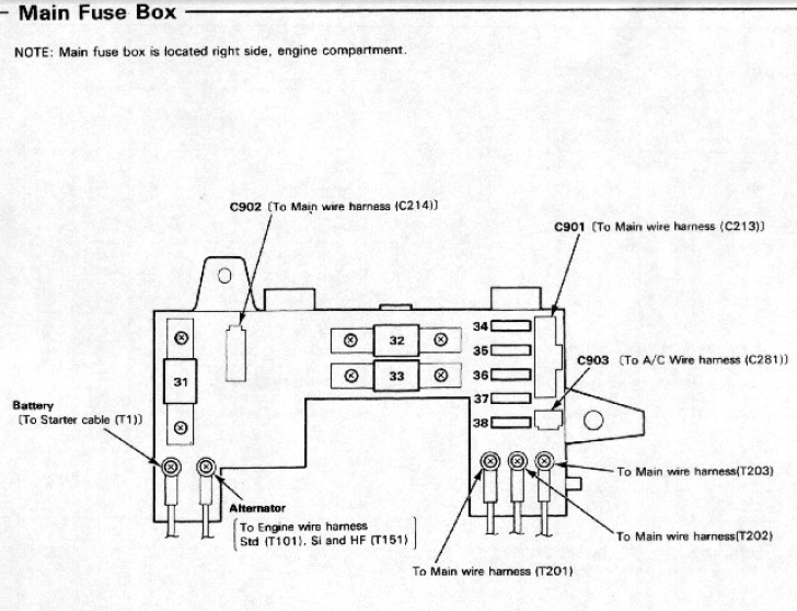 1988 Mazda 626 Engine Diagram Wiring Diagram