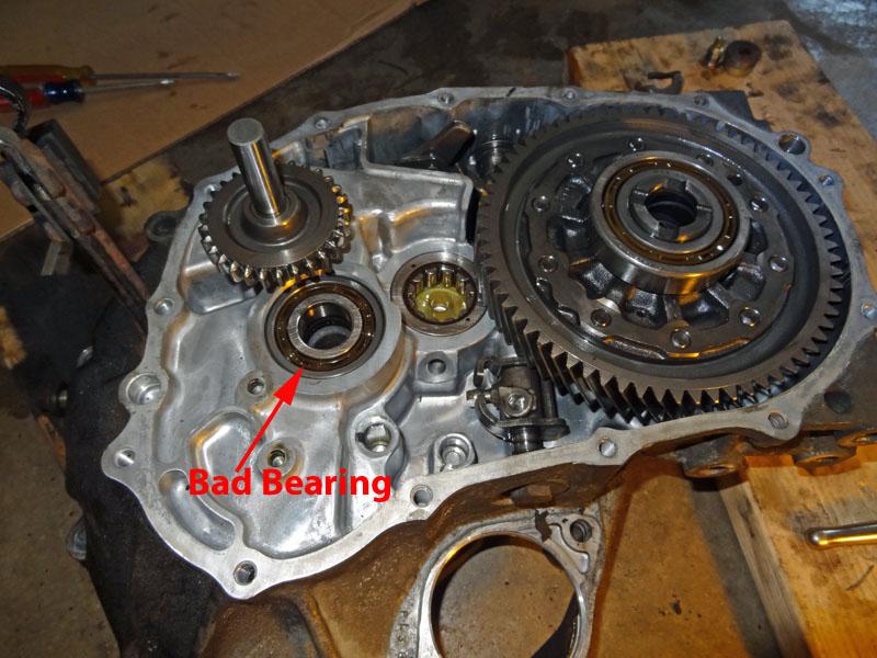 how to rebuild a honda manual transmission