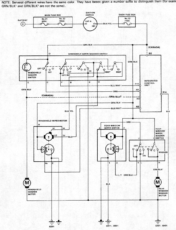 91 Honda Civic Stereo Wiring Schematic Diagram Electronic