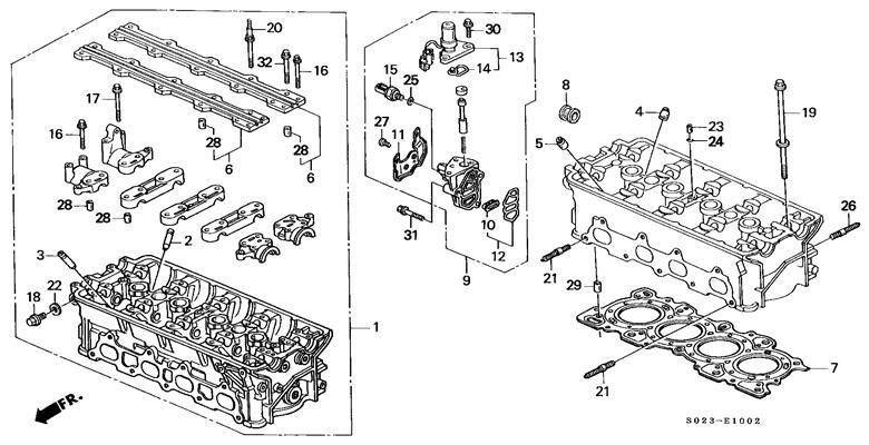 honda civic vtec engine on honda civic dx 16 valve engine diagram