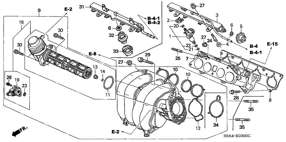 2010 honda crv engine diagram