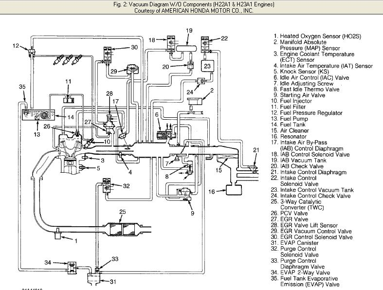93 honda accord spark plug wire diagram