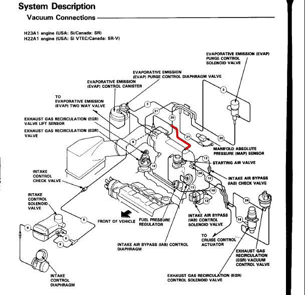 honda prelude vacuum diagram