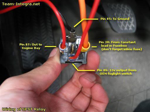 How to - JDM ITR HID Headlight and Fog Light Wiring - Honda-Tech