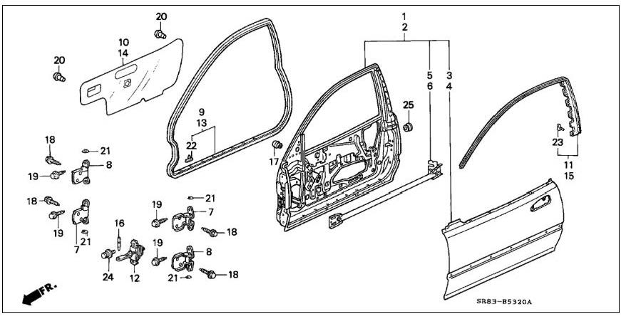 1995 civic stereo wire diagram