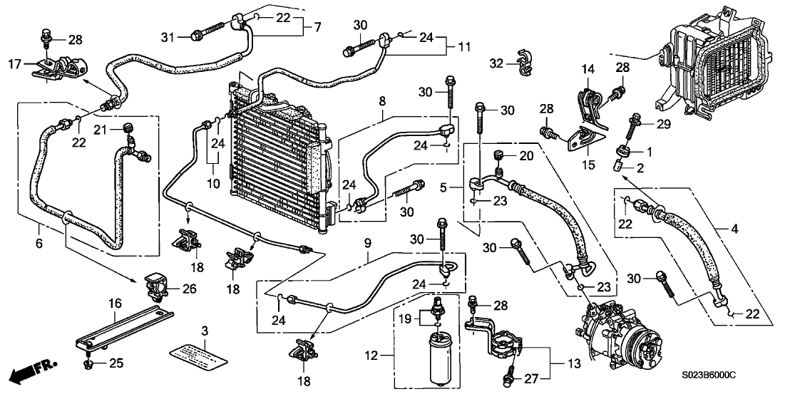 00 civic si wiring diagram