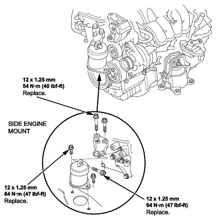 acura tsx engine diagram