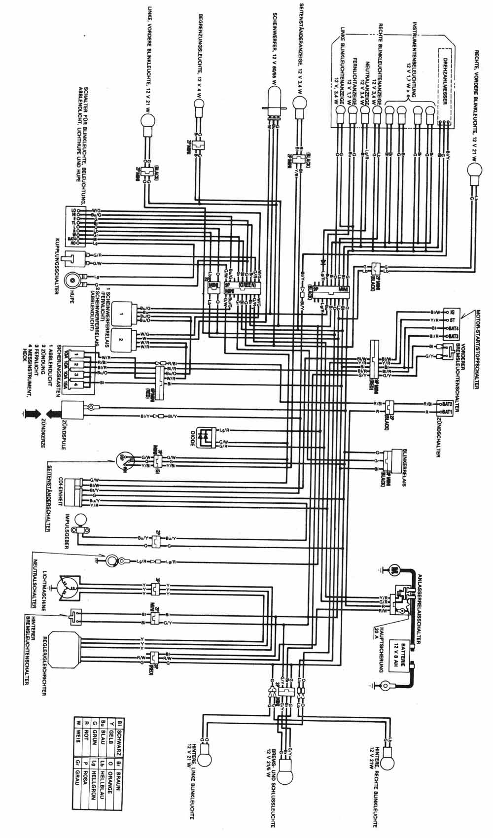 honda slr 650 wiring diagram