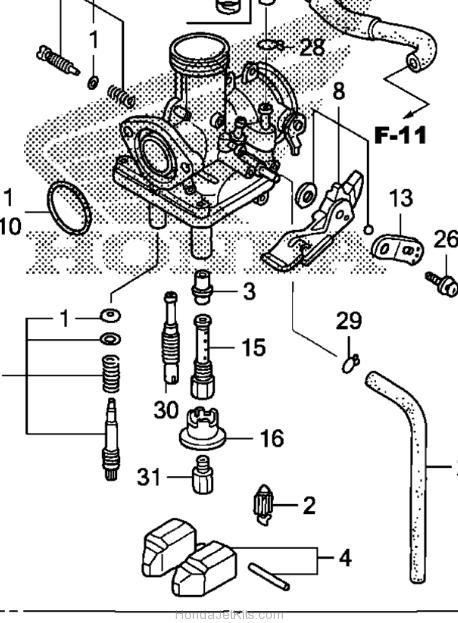 2009 honda crf150f wiring diagram