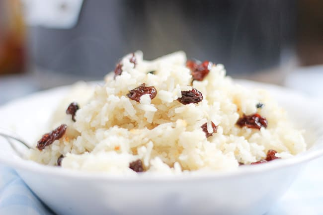 how to cook rice with milk