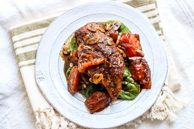 Balsamic Garlic Chicken