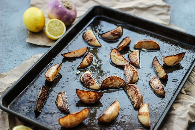 easy roasted turnips with lemon-2