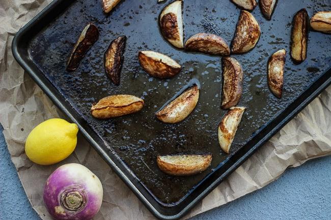 easy roasted turnips with lemon-4