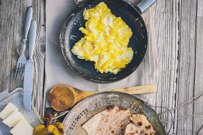 how to prepare perfect scrambled eggs