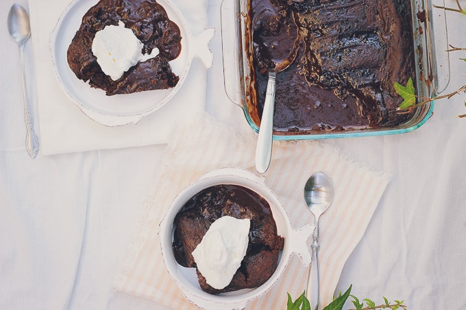 chocolate pudding cake-29