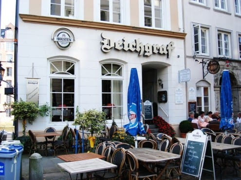 Deichgraf Restaurant in Cosmopolitan Hamburg, Germany