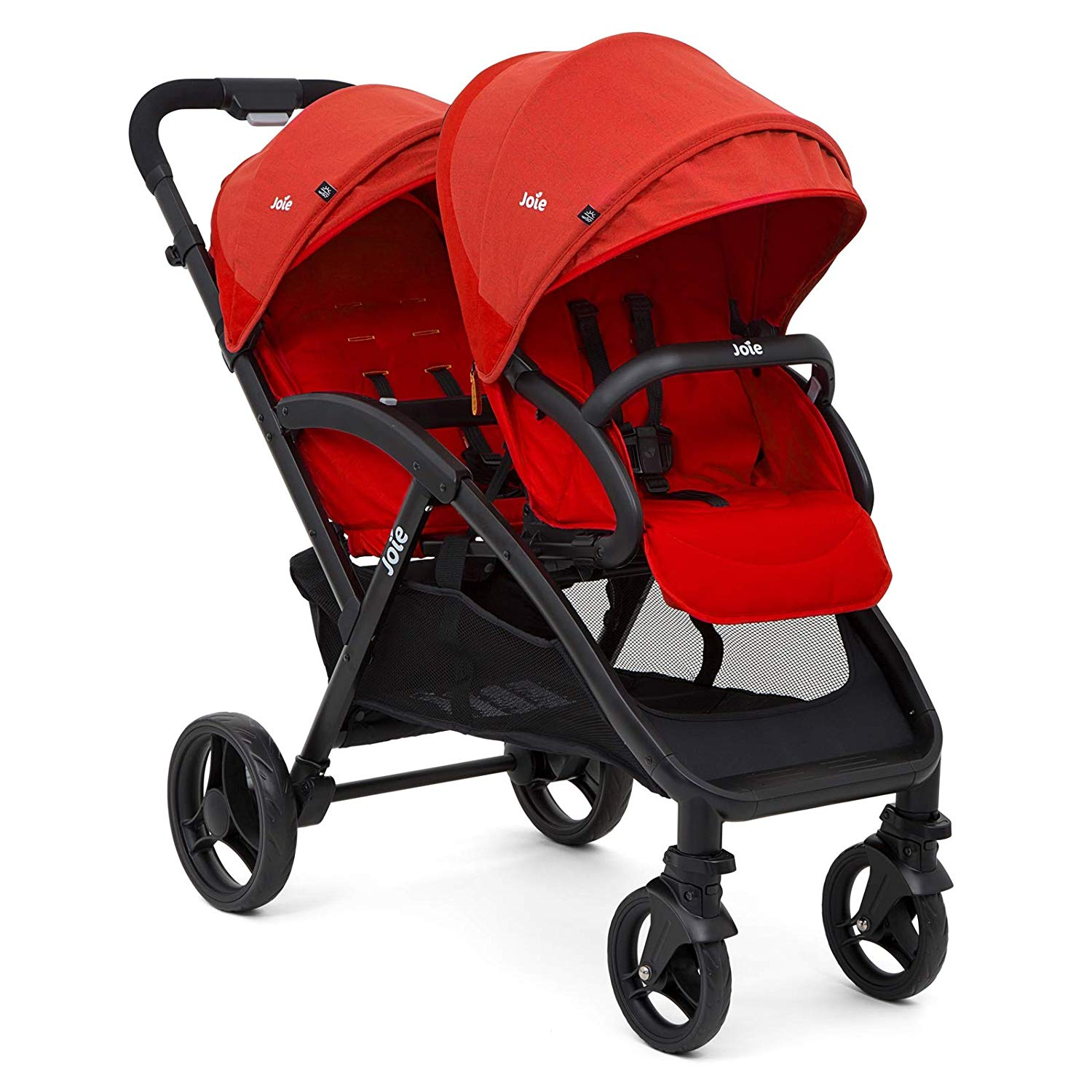 Britax Duo Twin Dolls Buggy Hot Pink Honest Forwarder