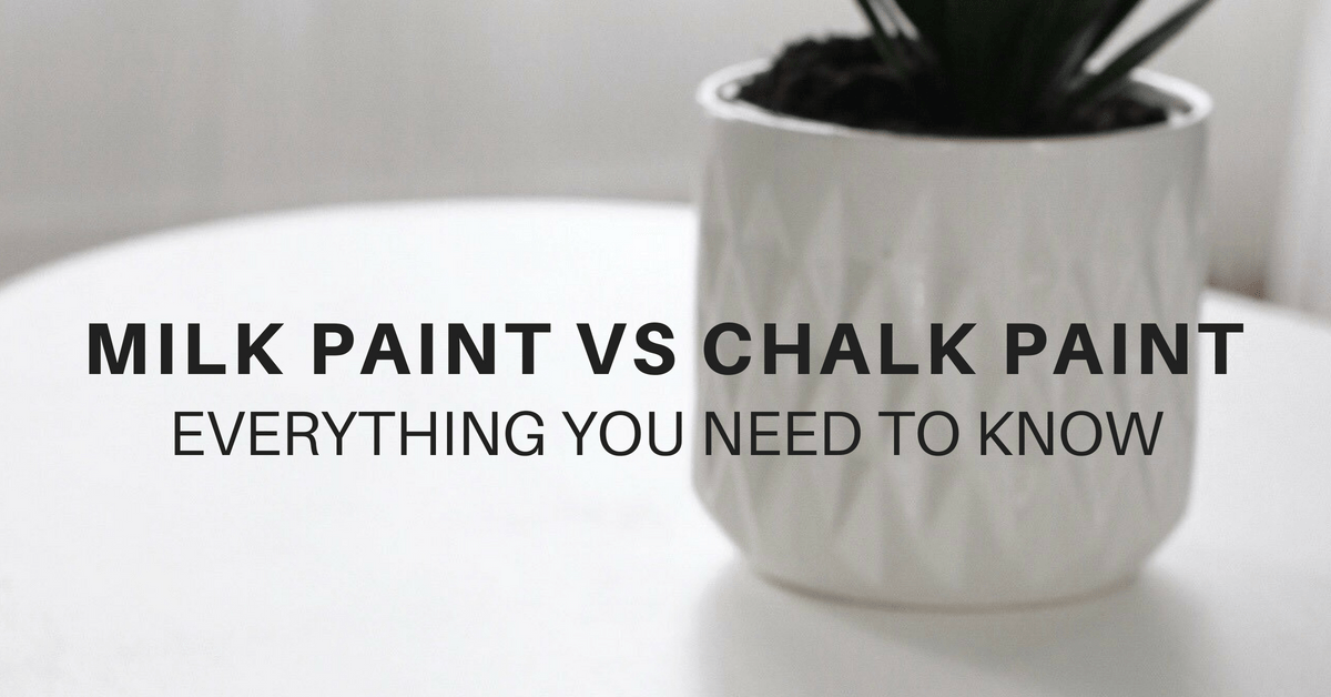 Furniture Refinishing Edmonton Diy 101: Milk Paint Vs Chalk Paint For Refinishing