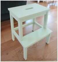 How To Ikea Hack a Step Stool  HONEY & ROSES